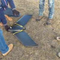 Tesztrepülés az eBee X merevszárnyú drónnal
