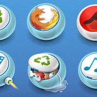 Lekerekített ikonok egyedi web design készítéséhez