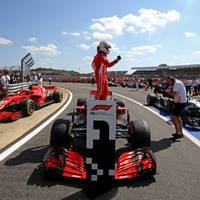 Igazságos vagy szerencsés Ferrari győzelem Silverstone-ban?