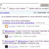 Megérkezett a valós idejű információkeresés a Google.hu alá
