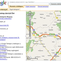 Magyarították a Google Mapset?