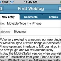 Itt a Movable Type iPhone-verziója