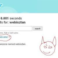 A Twitter lesátánozza a Webisztánt