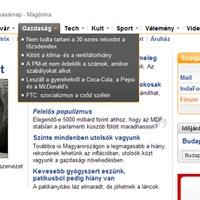 Új Index, ante porta(l)s