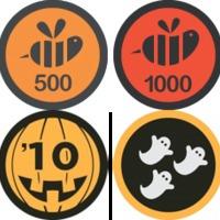 Új Foursquare badge-ek: Halloween és Epic Swarm