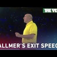 Könnyekkel és Dirty Dancinggel búcsúzott Ballmer