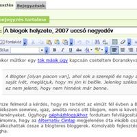 A hazai blogszolgáltatók és az álomkór