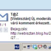 Gmail: új asztali értesítés emailekre és csetelésre