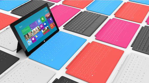 microsoft surface tablet 2012