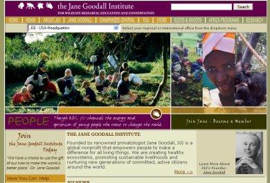 Jane Goodall oldala