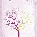 Ujjlenyomatos fa plakátok
