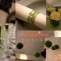 Természetes hangulatban - Zöld esküvői dekoráció