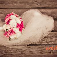 Andi és Pilu, avagy egy pink és csokoládébarna esküvő