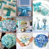 Színes esküvők - valami kék...
