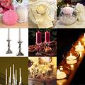 A romantikus hangulat elhagyhatatlan elemei: gyertyák és mécsesek