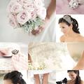 A modern elegancia - halvány rózsaszín és szürke