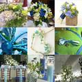 Színes esküvők - természetes harmónia kékkel és zölddel