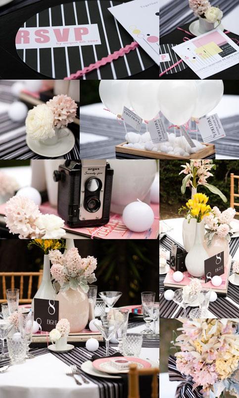 Hogy ne vonja teljesen el a tekintetet az asztalon lévő apró kiegészítőkről  a központi virág 79e71ff92a