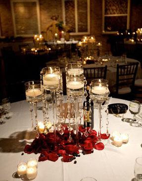 5a3fc12b2f Esküvői asztaldísz mécsesekből - Wedding Design Blog - esküvő stílusosan