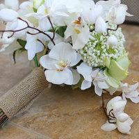 Elbűvölő, törékeny szépség - orchidea a menyasszonyi csokorban