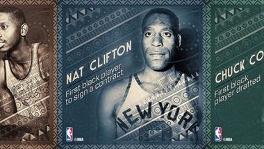 Clifton, Lloyd és Cooper, az NBA úttörői