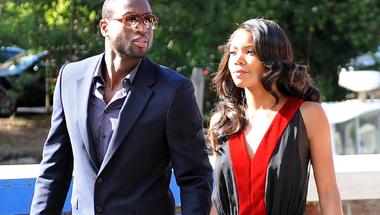D-Wade nyilatkozatát felesége fejezte be, de volt már viccesebb is Gabrielle Union