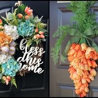 Tavaszi ajtódísz, amit imádni fogsz – Azonnal használható DIY ötletek