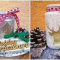 Filléres karácsonyi ötletek befőttesüvegből