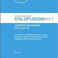 Macromedia ColdFusion MX 7 Certified Developer Study Guide Download.zip