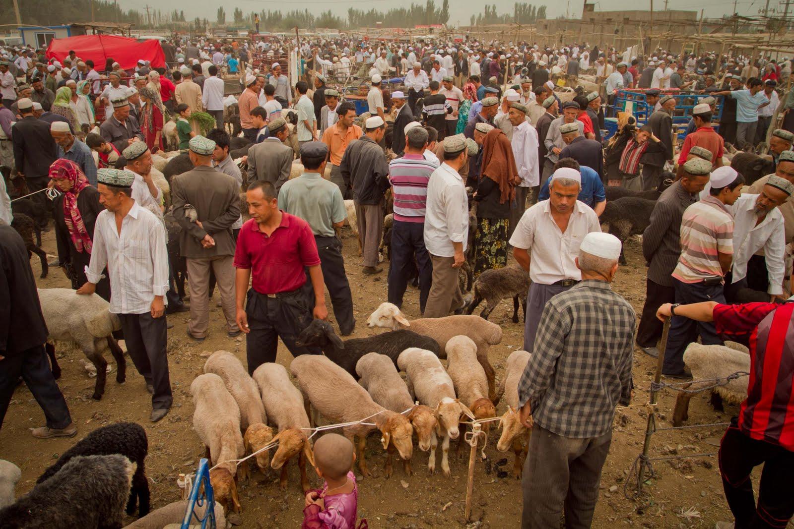 Kashgar (Kína) napi 200000 látogató