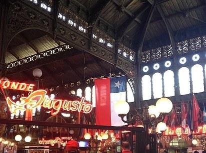 Mercado Central (Chile) az áru főpályaudvara