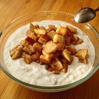 Fahéjas-almás görög joghurt