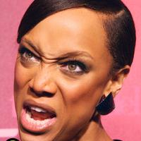 Tyra Banks, a humanoid típusú alien
