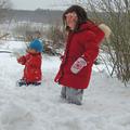 Vannak, akik élvezik a téli márciust...