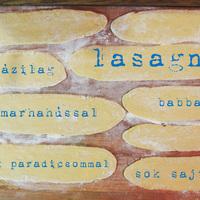 Lasagne házilag