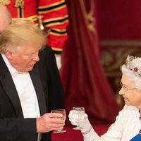 Angol pezsgő és pár üveg 90-es Lafite is pukkant Trump vacsoráján