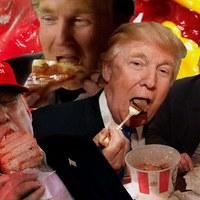 Ezeket eszi Trump nap, mint nap