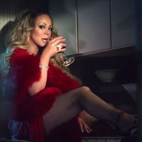 Mariah Carey vörösborral felejt