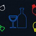 Karóra, napszemüveg és nyakkendő boroshordóból