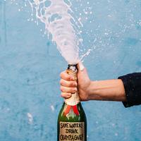 Ilyen lehet, amikor a csapból is champagne folyik