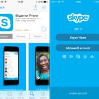 Skype 5.0 iPhone-ra