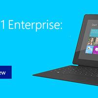 A Windows 8.1 Enterprise előzetese már elérhető