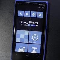 GoPro app Windows Phone 8-ra