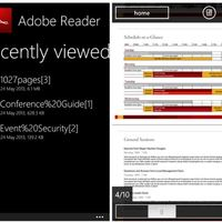 Itt a hivatalos Adobe Reader Wp8-as telefonokra