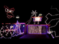 Angry Birds karácsonyi díszkivilágítás
