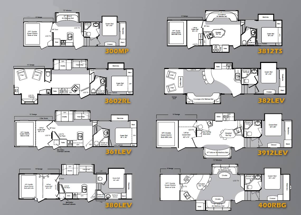 Sierra Fifth Wheels By Forest River Rv Camper Floor Plans Pinterest Forest River Rv And Rv Floor Plan Idea
