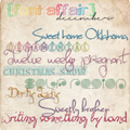 Font Affair December