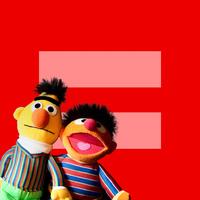 Bert és Ernie az egyenlőségért!