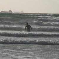 Egy darabka európai tenger. Wales. Európai képeslapok