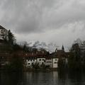 Svájcban hallgató hegyek ... európai képeslap